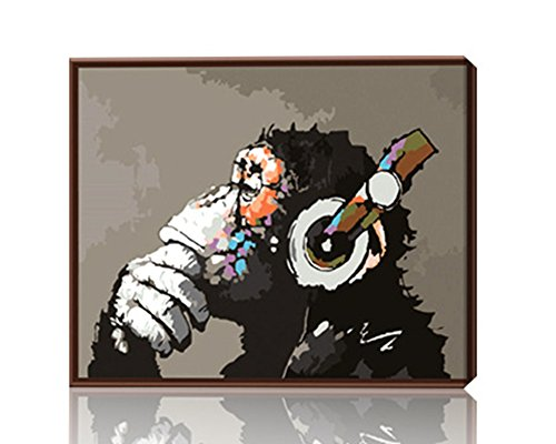 Orangutan Framed - 2