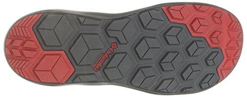 Columbia Mens Techsun Sandalo Atletico Titanio Mhw, Razzo