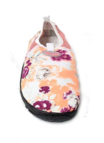 Easy Usa Mujeres Wave Zapatos De Agua Peach Roses