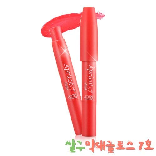 Etude House Apricot Stick Gloss #7 Fresh Raspberry