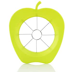Apple Slicer, Corer & Wedger – Sharp and Sturdy Cutter – Cuts the Fruit in 8 Slices – by Sylvia's Healthy