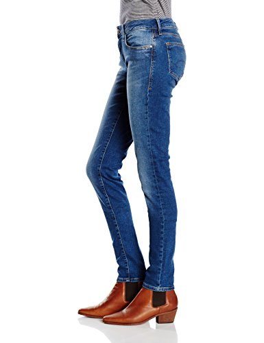 Deep Donna Azul Shaded blau jeans Mavi IqUwaa