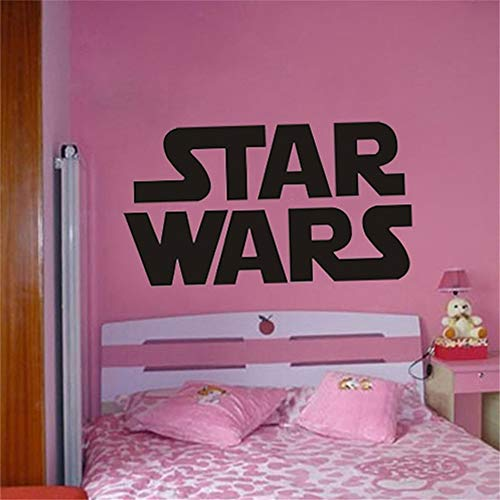 Wall Sticker Decal Mural Window Vinyl Decal Quote Art Giant Star Wars Starwars Logo Bedroom Star War Wall Stencil Sticker -