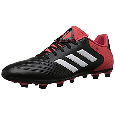 quality design fed73 1c8e5 adidas Performance Mens Copa 18.4 Fxg Soccer Shoe, Core BlackWhiteReal  Coral