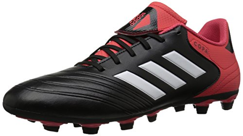 best sneakers f0fec 9b726 adidas Performance Mens Copa 18.4 FxG Soccer Shoe, Core BlackWhiteReal  Coral