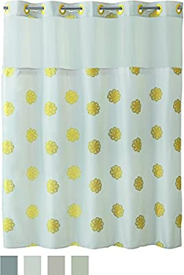 Hookless Liner for Shower Curtains