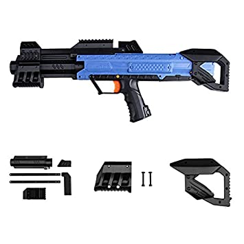 3D Printing Pump kit Grip Stock for Nerf Rival Apollo XV700 Modify Toy  Color Black