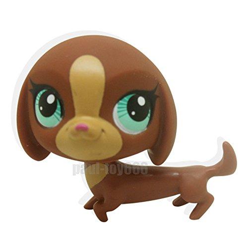 SKY@ Chocolate Brown Dachshund Dog Puppy Blue (Raven Dc New 52)