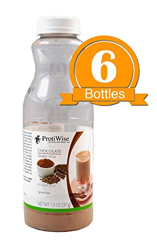 ProtiWise – Chocolate Instant Protein Diet Shake (6-Pack Bottles) For Sale