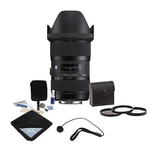 Adorama Sigma 18-35mm F/1.8 DC HSM ART Lens for Nikon SLR Ca
