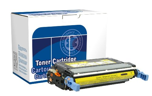 Dataproducts DPC4730Y Remanufactured Toner Cartridge Replacement for HP Q6462A (Yellow) -