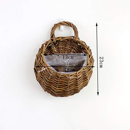 Growers Hanging Basket Indoor Outdoor Hanging Planter Basket for Patio, Garden, Balcony, Living Room, Bedroom 7.1