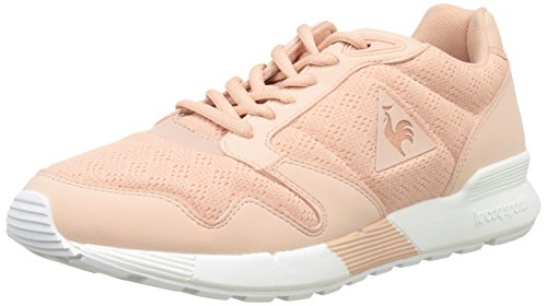 Le Coq Sportif Women's Omega X W Reflective Low-Top Sneakers, Pink Pink (Rose Cloud Rose Cloud)