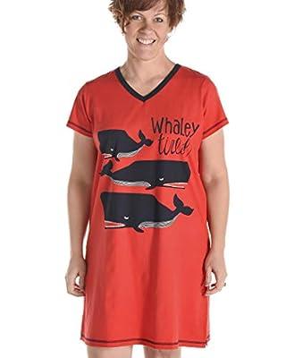 Lazy One Cute Animal Nightgown, Comfortable Sleep Shirt, Sleepwear for Women
