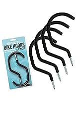 Impresa Products 4-Pack Bike Hook/Hanger...