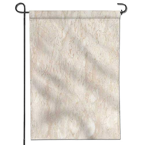 (Jiahonghome Garden Flag Stone Italian Marble Warm Cream Home Sweet Home Double Sided Decorative Flags for Outdoors 26