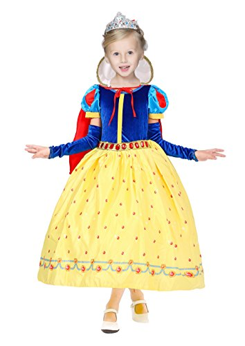 Newest Halloween Costumes 2016 (sophiashopping Gorgeous Princess Snow White Costume Dress Halloween Costumes Dressup 43.3