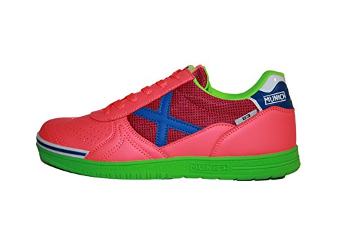 Erwachsene Fitnessschuhe Unisex 3110818 Rosa 3110818 Munich Multicolor Mehrfarbig qgAnp5wdx