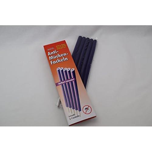 """10x Anti Moustiques flambeaux """"Lavender giftfreier Moustiquaire insectes Protection Anti-Moustiques torche"""