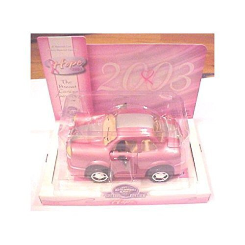 Breast Cancer Collectibles - Chevron Cars Collectible Hope Breast Cancer Awareness Pink Ribbon