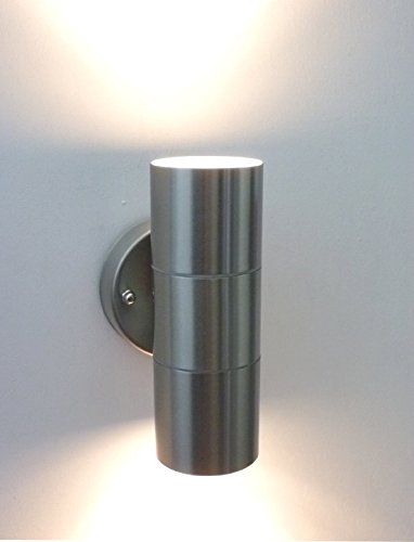 Wall Sconce Lamp Kit : Sunsbell Waterproof Up Down Cylinder Wall Sconce Lighting Indoor Outdoor Lighting Fixture Kit ...
