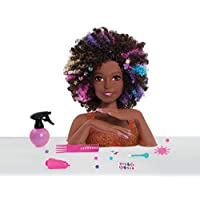 JP Barbie JPL63345 Barbie Sparkle Deluxe Styling Head - Afro Hair
