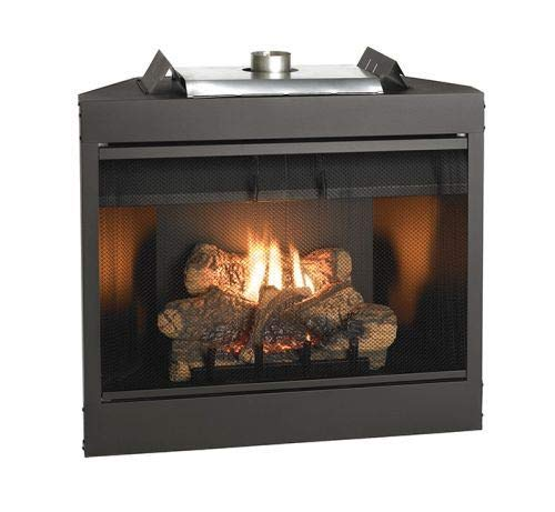 (Empire Comfort Systems Deluxe 36 Keystone Series MV Flush Face B-Vent Fireplace - Natural Gas )