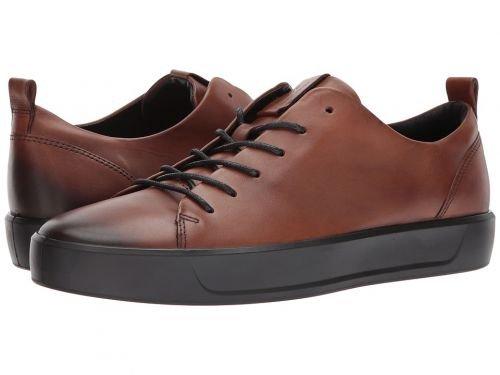 ECCO(エコー) メンズ 男性用 シューズ 靴 スニーカー 運動靴 Soft 8 Street Low - Lion [並行輸入品] B07BLRXVTY