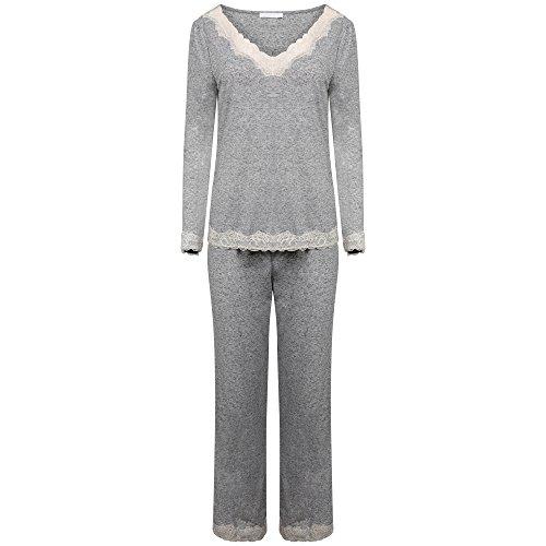Ex Marks & Spencer - Pijama - para mujer gris claro