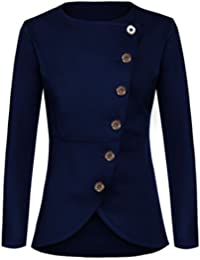 Amazon.com: Blue - Blazers / Suiting & Blazers: Clothing, Shoes ...