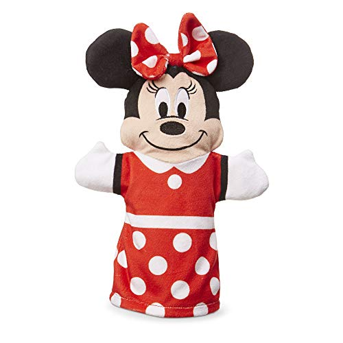 """Melissa & Doug Mickey Mouse & Friends Hand Puppets; Puppet Sets; Mickey, Minnie, Donald, and Goofy; Soft Plush Material; Set of 4; 9.5"""" H x 14.2"""" W x 2.1"""" L by Melissa & Doug (Image #4)"""