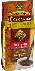 Herbal Coffee, Organic, Vanilla Nut, 11 oz ( Double Pack)