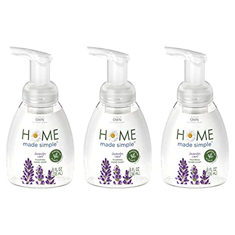 home made simple foaming hand soap, lavender scent, 8 fluid ounce (pack of 3) - 41wHRs1t7AL - Home Made Simple Foaming Hand Soap, Lavender Scent, 8 Fluid Ounce (Pack of 3)