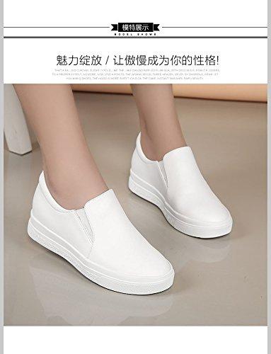 Zapatos Joker Los Conducción Cómoda De De Prueba Mujer KPHY Bajo Zapatos Deslizamiento Zapatos Deportes Tacon De Zapatos De white Solo Yn1qC
