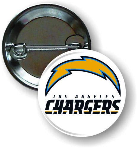 Los Angeles Chargers NFL Pin Pinback Vintage Button 1 .25 Collection Match On Jersey Sport Hat Decor (5)