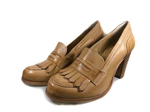 Mujer Vestir Para De Piel Lino Altramarea Zapatos 8TwH6