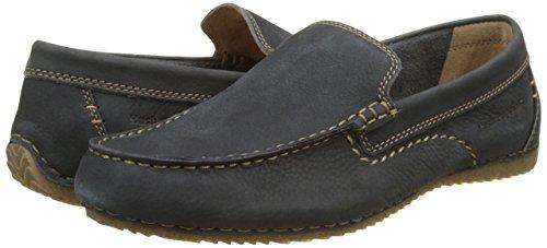 Hush Puppies Riban, Mocasines para Hombre, Azul (Marine 10), 44 EU: Amazon.es: Zapatos y complementos