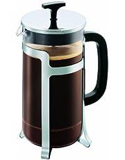Bodum Jesper Coffee Maker with Stainless Steel Lid, 1L, Chrome