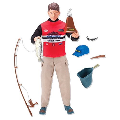 10 Scale Action Figure (Wild Adventure Fisherman Action Figure)