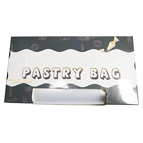 Piping Bags - 50Pcs/Lot Roll Disposable Thickened Cream Cake Embroidery Flower Bag Tear-off Pastry Bags Upset 7 Silk Cake Icing Piping Bag
