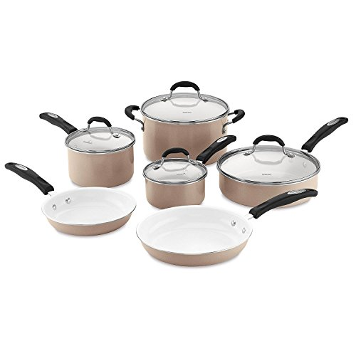 Cuisinart Ceramic Nonstick 10-Piece Cookware Set (Cuisinart Ceramica 10 Pc Nonstick Cookware Set)