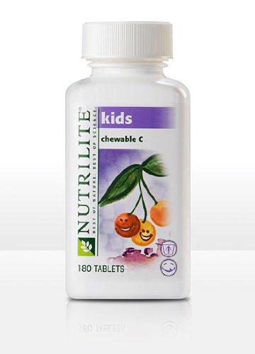 Nutrilite Kids Natural C - Chewables - 180 Count 180 Tablets