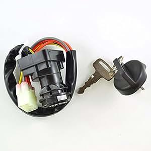 three position ignition key switch for suzuki. Black Bedroom Furniture Sets. Home Design Ideas