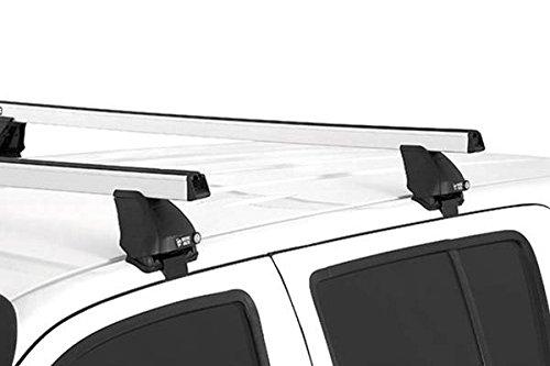 (Rhino Rack 2008-2016 Ford F250 F350 F450 Crew Cab 2500 Multi Fit Heavy Duty Roof Rack System DH1500S-DK190 JA0221)