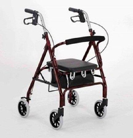 Merits Health Products 4 Wheel Rollator - W464-UWVMUEA - 1 Each / Each