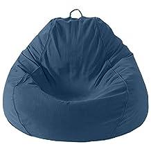 Mybeanbag Chair Kids Pear, Twill, DK Blue
