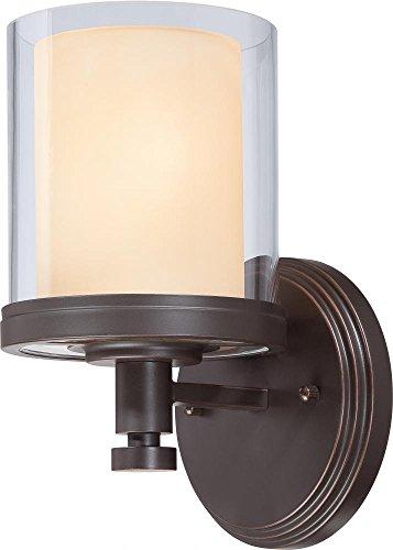 (Nuvo Lighting 60/4541 One Light Vanity Bronze/Dark)