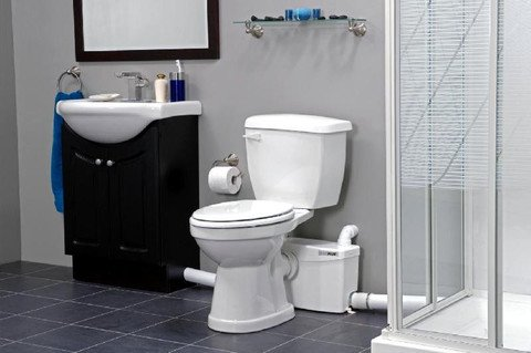 up flush toilet