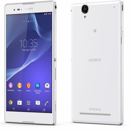 Sony Xperia T2 Ultra D5303 8GB Whte LTE Unlocked Smartphone by Sony