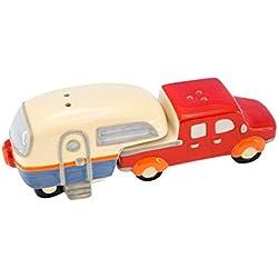 Beachcombers SS-BCS-03177 Truck/Camper Salt And Pepper Shaker Set, 6.25 x 2